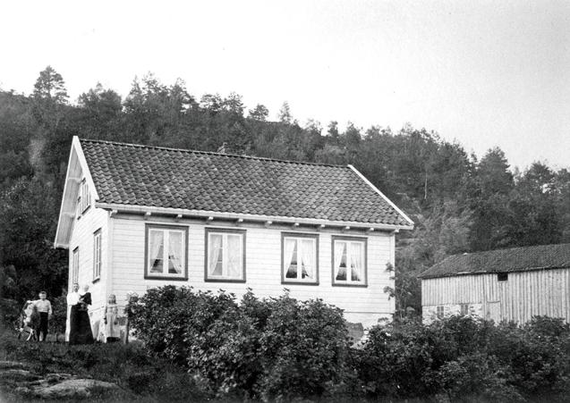 Årdalen, før 1920.
