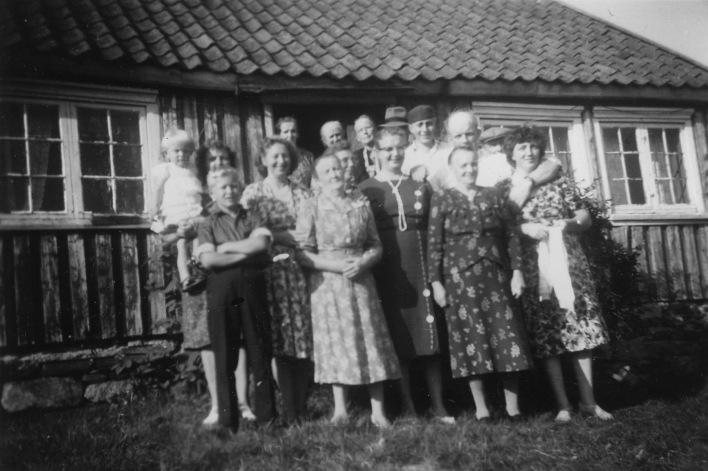 Familiebilde på Røynås.