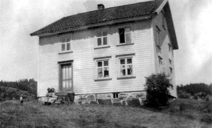 Hus på Gladstad, 1925.