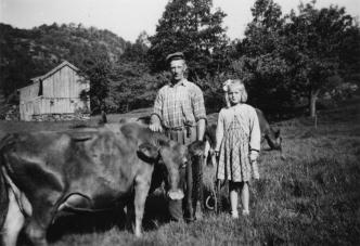 Gunvald G og Ågot Kathrine Due Tønnessen ved Eigevold
