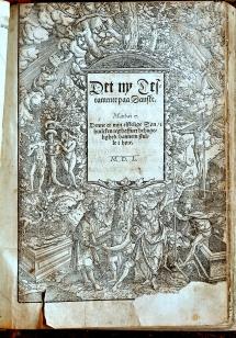 Gutenberg bibel fra 1550-tallet