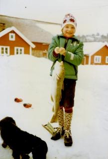 Isfiske i Steindalsfjorden Martin