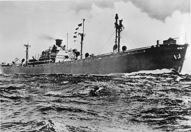 SS Fridtjof Nansen, 1946.