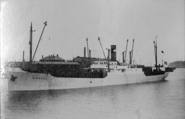 SS Siredal, 1936-38.