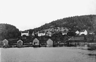 Vestre Vallesverd i 1870- årene.
