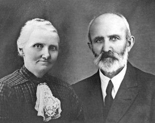 Sakarias og Sigrid, 1925.