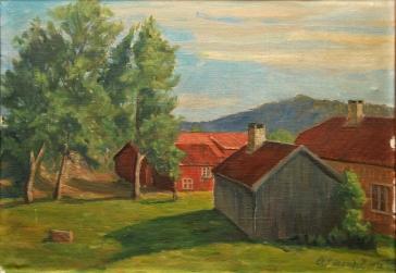 Maleri av Trøe