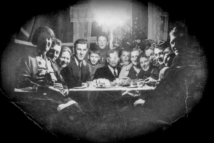 Fam.samling til jul, ukjente