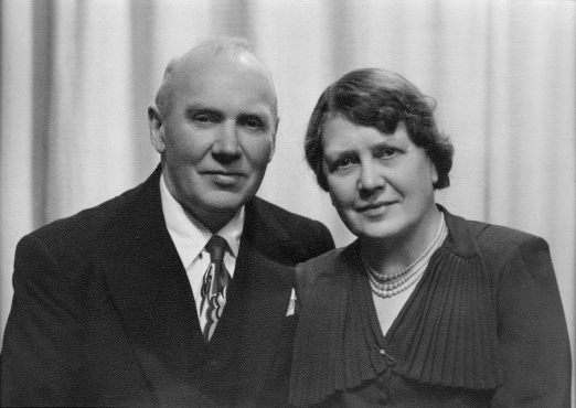 Isak Olsen og Martha Gundersen, 1952