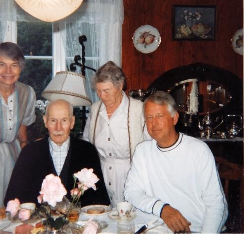 92 år Th.Øystein Vengene