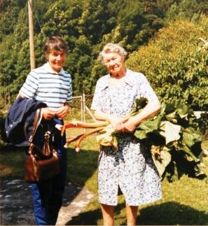 Else Marie og mor 1982