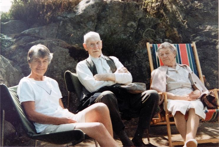 På hytta1985