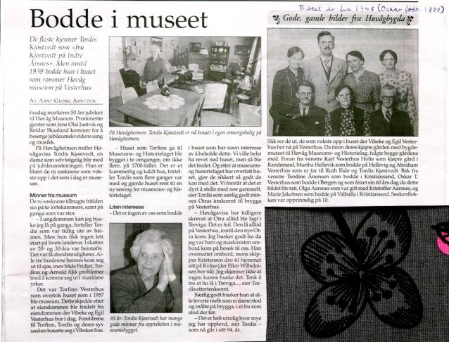 50-årsjub for museet