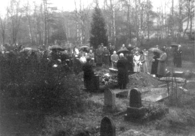Annas begravelse - 3 desember 1948