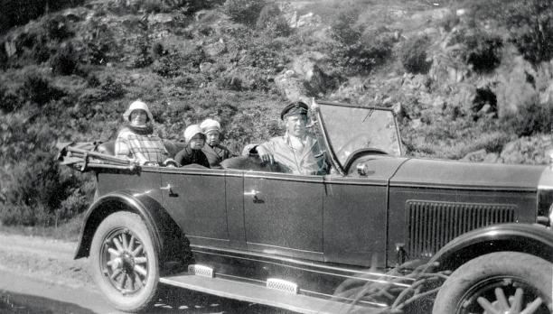 Arne Randvigs første taxi?