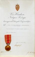 Aslaksen - medalje