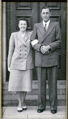 Brudeb. 1949 Afrika Lajla og Oddmar