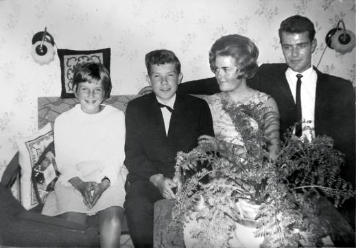 Brynhild, Arne, Anita og Harald