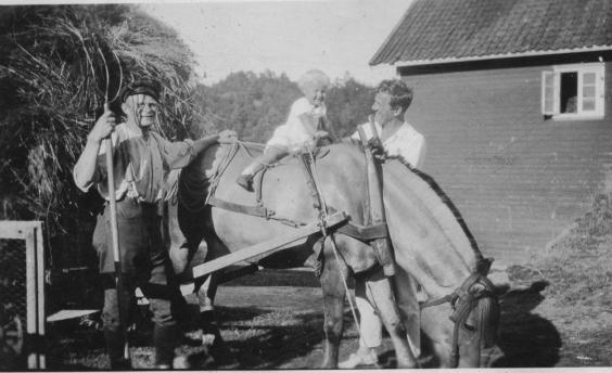 Daniel, Olav og Gitten Asheim