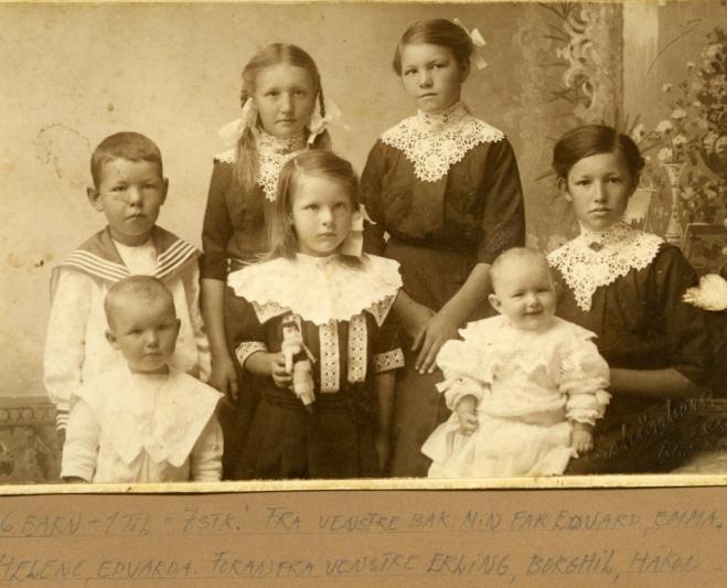 De 7 første barna