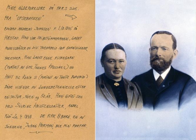 Edvard og Søvrine Johnsen