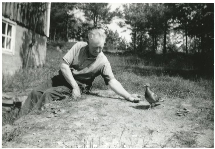Ingvald og dua, midt på 50-tallet