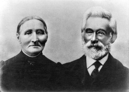 Jens Tobias Jensen og Kirstine 1905