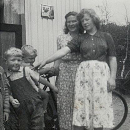 Johnny, Bjørnar, Palma og Else Lill