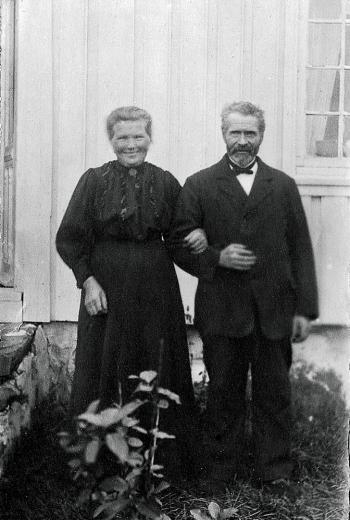 Josefine og Ole Randvig Olsen