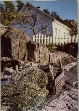 Kastodden, fiskekister og garn