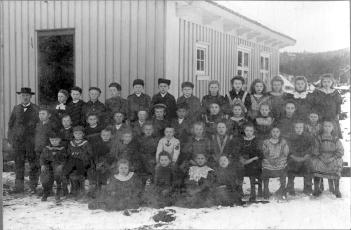 Klassebilde Kvåse skole