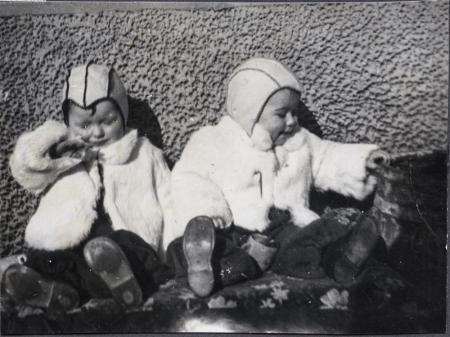 Laila Hæstad og Arild Frittun, søsken