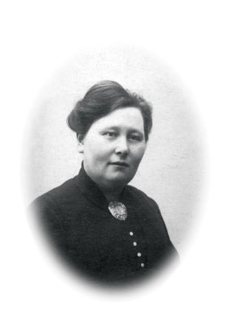 Marta Isefjær hadde melkebutikk i Dr.gt