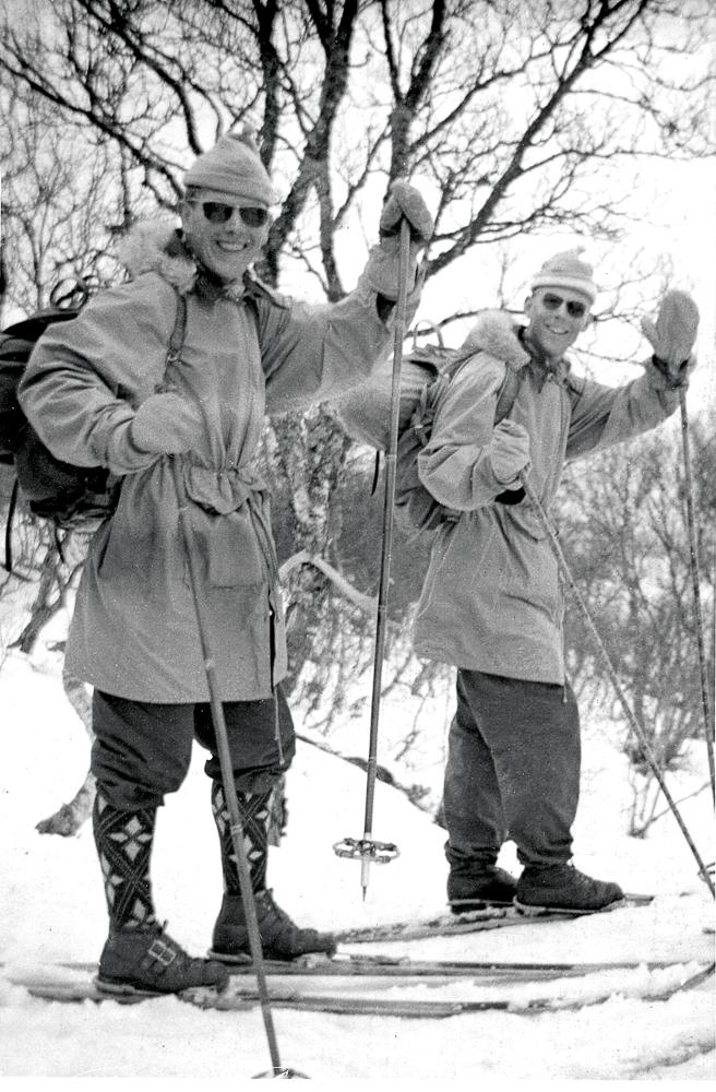 Skiutstyr, 50-tallet