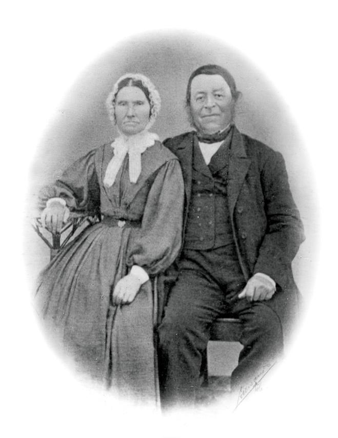 Tønnes Kvannes og Oline Kristine Håvarsdtr (Sævik), tippoldef. på bestemor Olines side