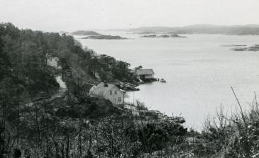 Utsikt fra Opsebakken-heia