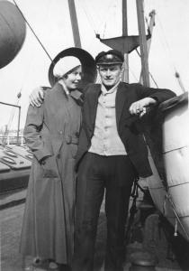 Bergine Marie og Alf Henry Kristiansen