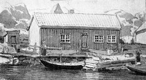 Bilde gjengitt i bok fra 1900