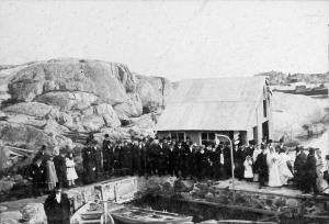 Gunda Tønnessens bryllup i 1904