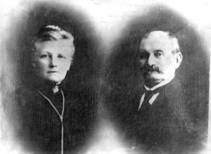 Hanne Kristiane og Thorvald Severin Larsen