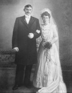 Kristian Severin og Inger Severine Nilssen 1909
