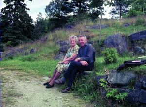 Kristoffer og Dagny Johannessen, 1966