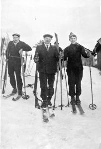 Tellef Hamre, Daniel Kvaase og politibetjent Reinertsen