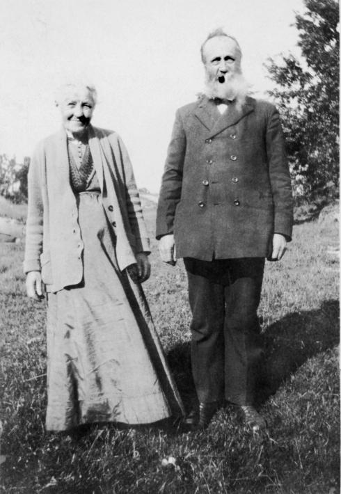 Andrea og Gunder Fjermeros