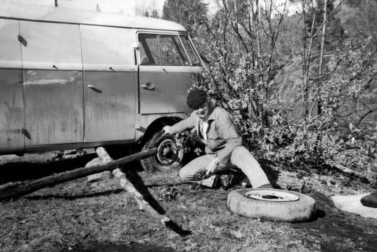 Roy Jonassen - den hydrauliske jekken mangler