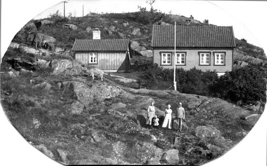 Solbakken, hos Andrea og Gunder Fjermeros