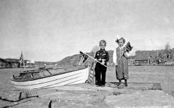 På tur til Høvåg, Jarl Ivar Jørgensen og Grethe