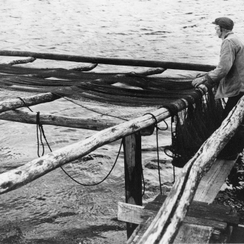 Olaf Jørgensen i arbeid